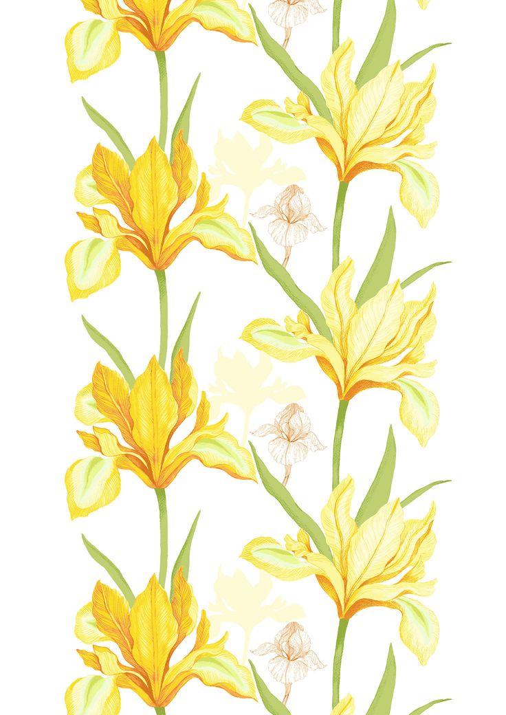 Iiris, yellow by Tanja Orsjoki