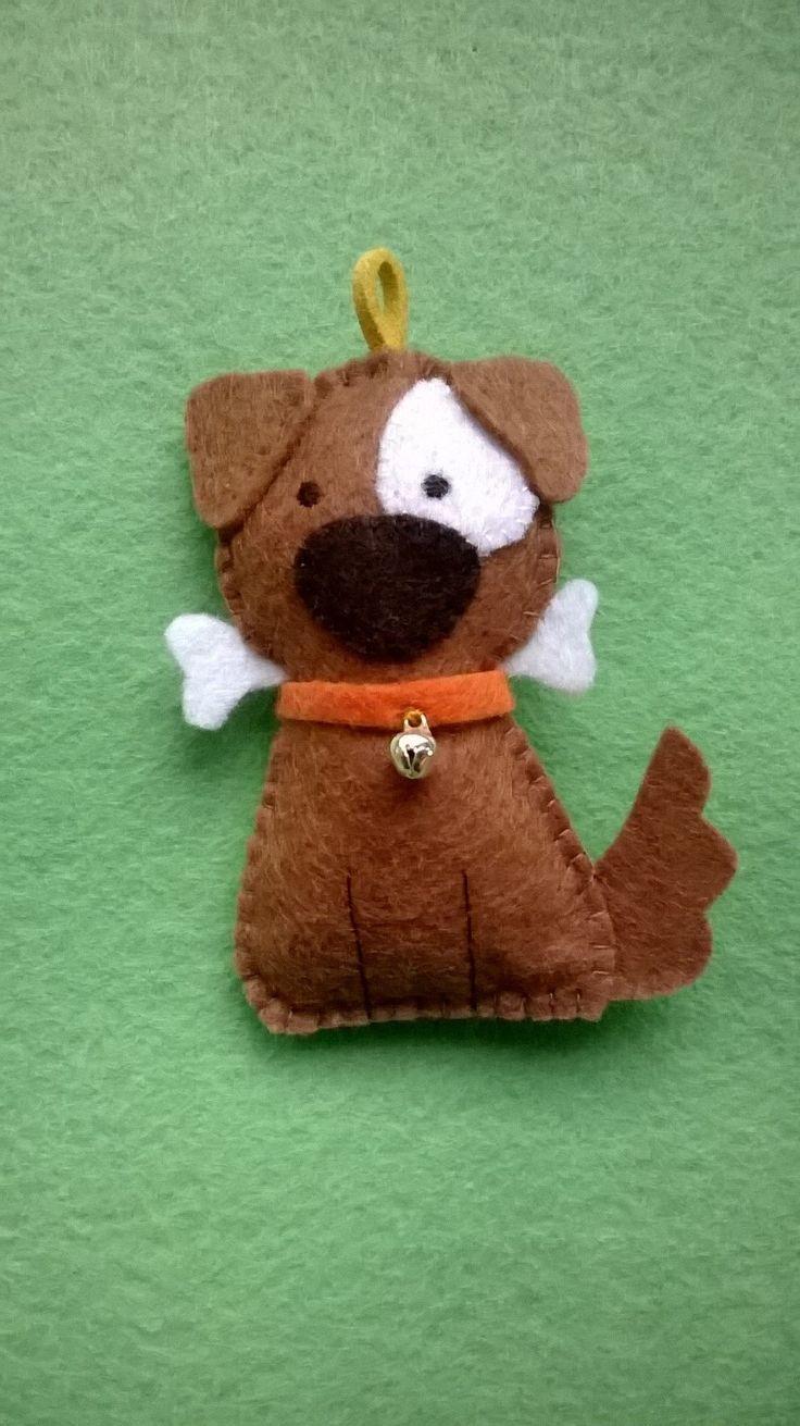 Dog felt key ring - Find me in fb and instagram #rutneverfeltsogood