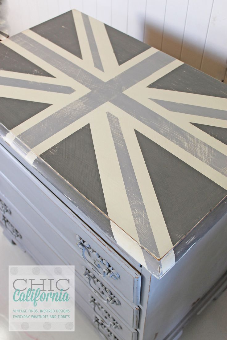 How to make a Union Jack using Frog Tape