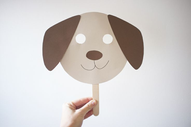 131 best craft a day images on pinterest for Dog mask template for kids