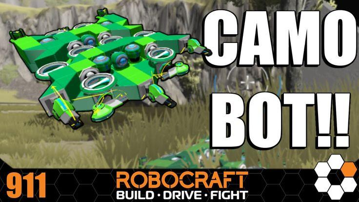 Robocraft - SnakeBot Build and Gameplay