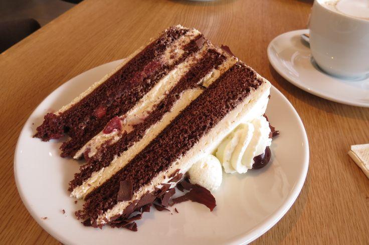 Real Blackforest cake