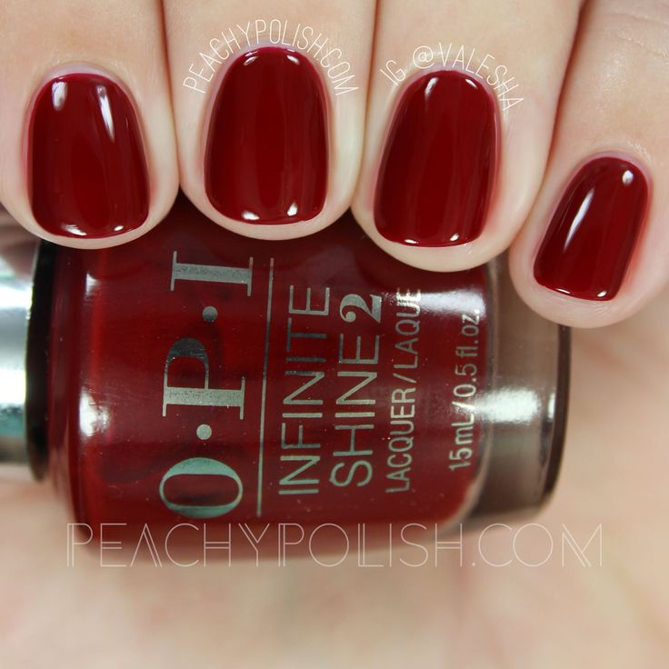 OPI Ring The Buzzer Again | Infinite Shine Breakfast At Tiffany's Collection | Peachy Polish