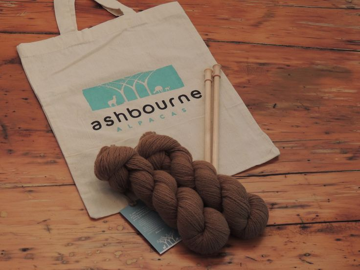 Ready to start #knitting - #yarn grown by Free Maiden. #AshbourneAlpacas