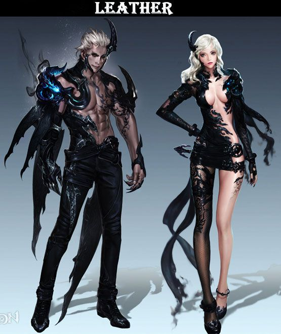 Aion 4.8 This male leather armor is beautiful!