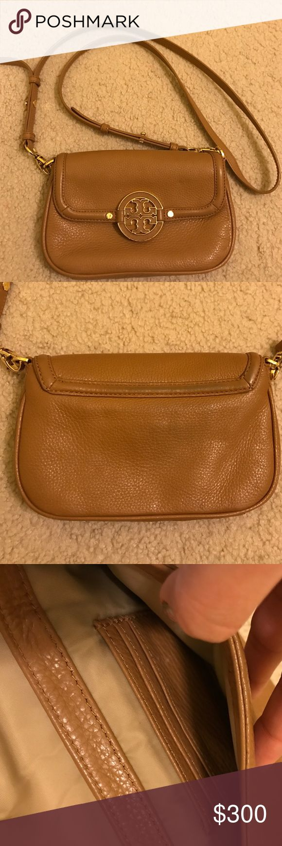 Tory Burch Crossbody Camel Bag This bag has barely been worn. Great color for every season! Leather. 100% authentic I bought it originally from Neiman Marcus. Tory Burch Bags Crossbody Bags