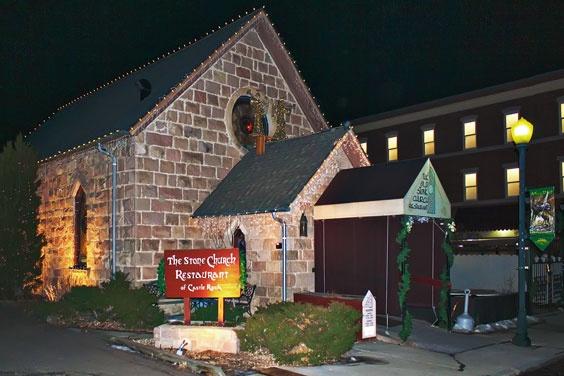 The Stone Church Restaurant, Castle Rock, Colorado