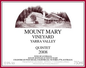 Conleys Fine Wines Best Vintage of Mount Mary ever produced.... limited stock left... - Mount Mary 1990 Quintet, $268.91 (http://www.conleysfinewines.com.au/mount-mary-1990-quintet/)