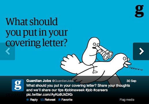 guardian covering letter