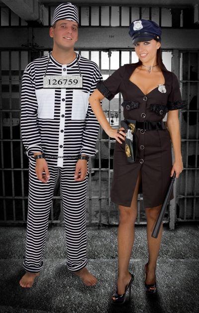 A rendőrnő és az őrizetes
