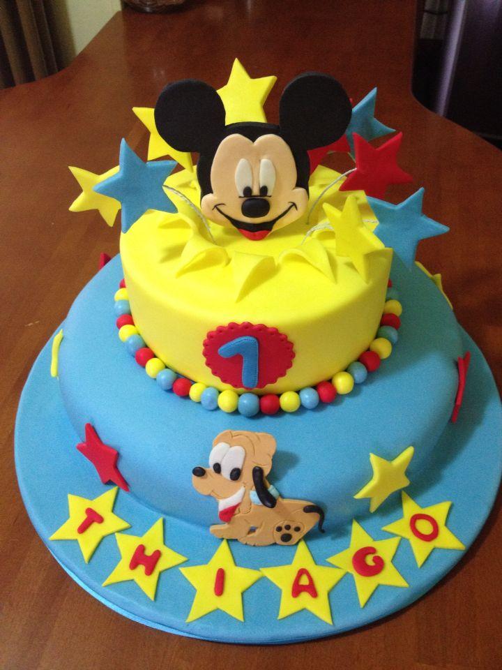 Torta topolino Torta Micky Mouse