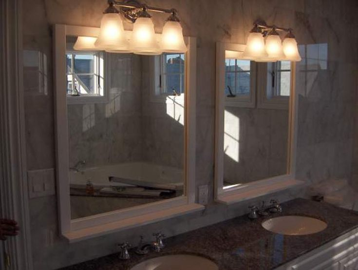 Awesome Websites Separate mirrors for separate sinks bathroom mirrors