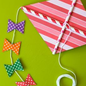 15 best images about kite making on pinterest for Decoration kite