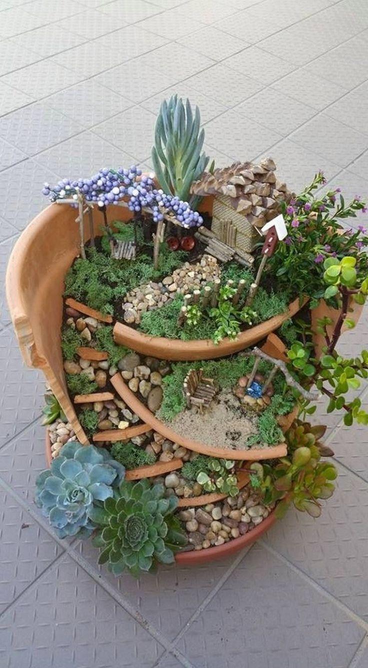 35+ Gorgeous DIY Fairy Garden Ideas