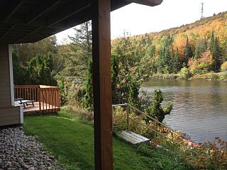 3BR 2BA vacation cottage in Lac-Supérieur for rent C$240. For more details and photos visit HomeAway 560009