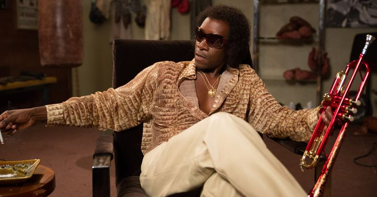 Review: 'Miles Ahead,' an Impressionistic Take on Miles Davis  #movies #music Don Cheadle