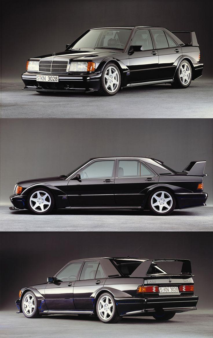 Mercedes 190E Cosworth Evolution 2.5L, comienzan los piques