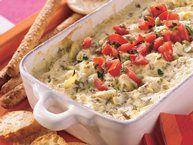 Baked Spinach Artichoke Dip recipe from Betty Crocker