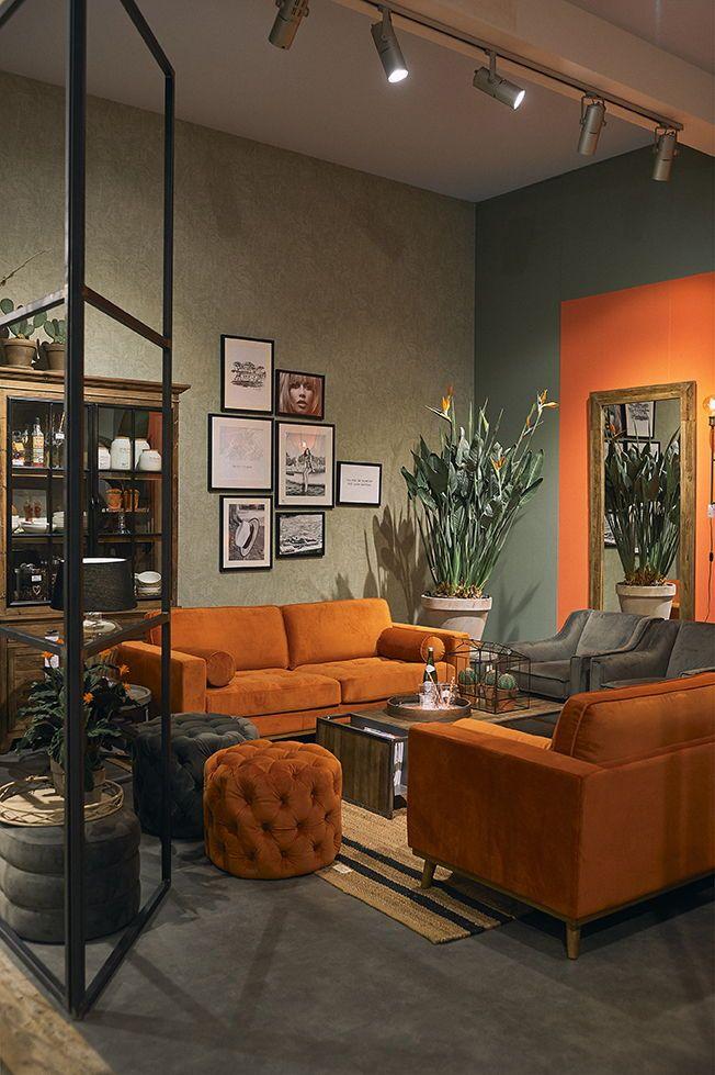 Design Bank Oranje.Oranje In Je Interieur Durf Een Statement Te Maken Met De Oranje