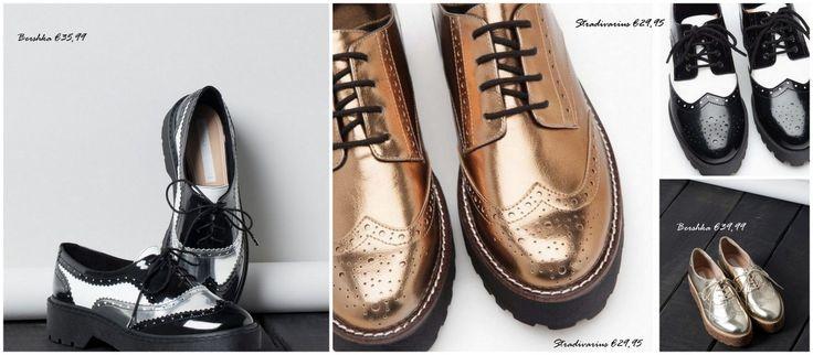 Αν πρέπει να αγοράσεις ένα μόνο ζευγάρι παπούτσια φέτος το χειμώνα, αυτό πρέπει να είναι ένα ζευγάρι brogues. Τα δανειστήκαμε (κι αυτά!) από την...
