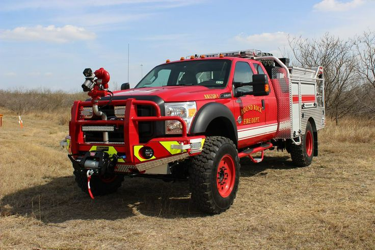 Round Rock Texas Fire Department Skeeter Brush Truck