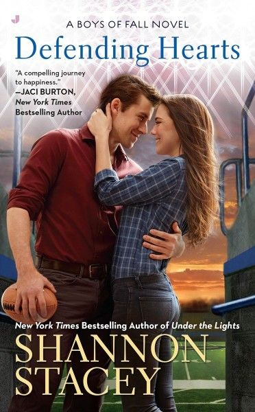 Defending Hearts (Boys of Fall) by Shannon Stacey at The Reading Cafe:   http://www.thereadingcafe.com/defending-hearts-by-shannon-stacey-review-giveaway/