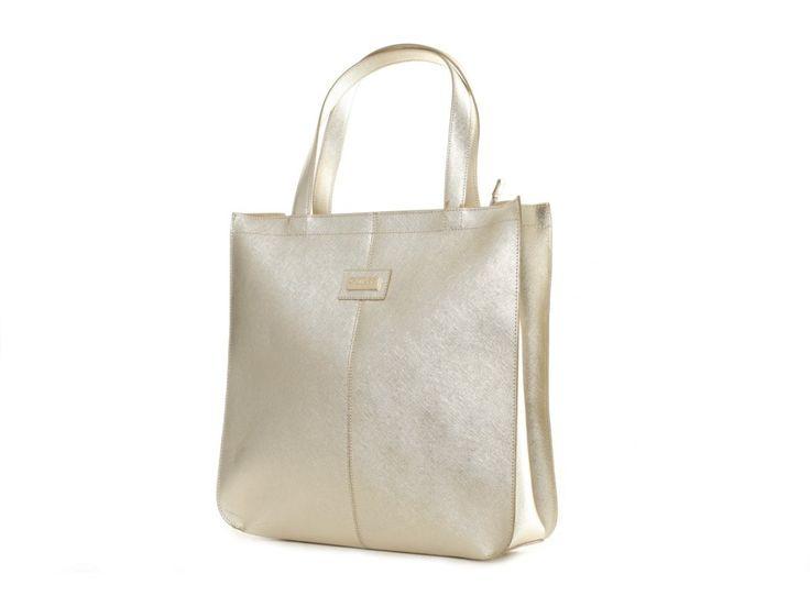 Dámská kožená zlatá kabelka GUESS - 100061952 | obujsi.cz - dámská, pánská, dětská obuv a boty online, kabelky, módní doplňky