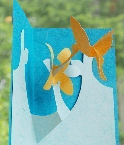 Kirigami Pop-up Cards Make Yourself 4 patterns by popupcardmaking