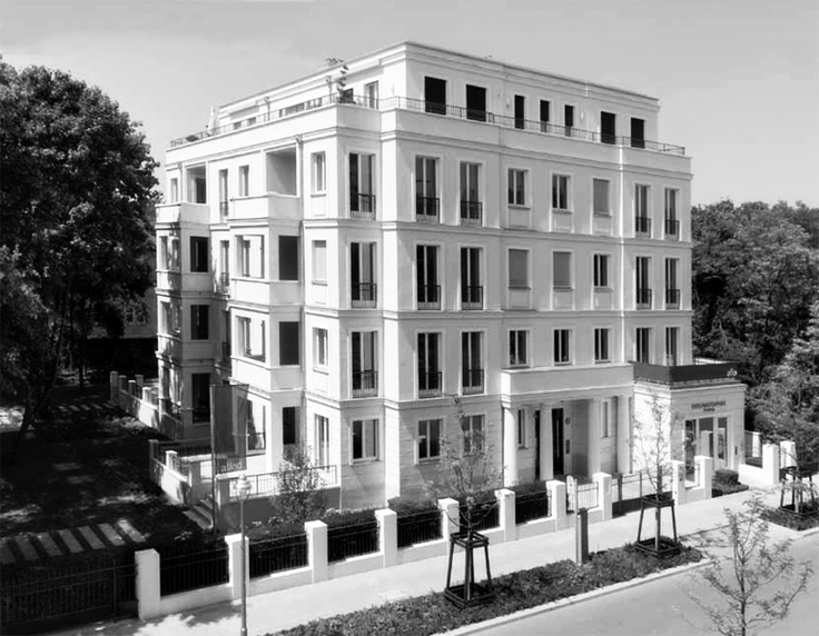 Architects Kahlfeldt Berlin Architecture Classic Architecture