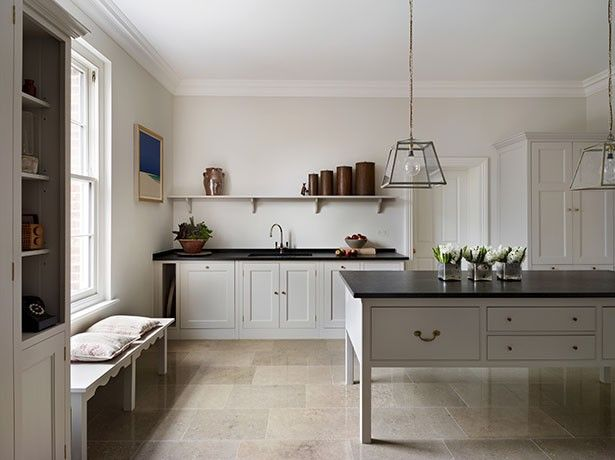 Plain English, Georgian Lodge Kitchen on Remodelista