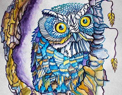 """Check out new work on my @Behance portfolio: """"Оwl stories"""" http://be.net/gallery/41052503/owl-stories"""