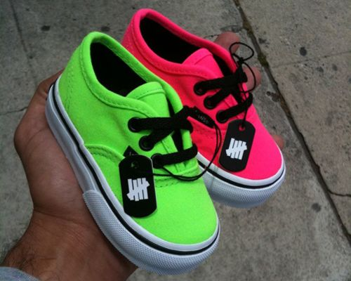baby vans, so cute! Ruby is gonna have the best shoe selection! Momma loves vans