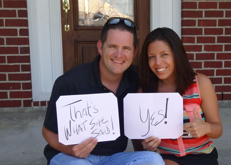 Engagement Announcement - Cute And Funny