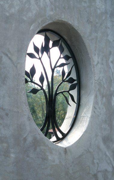 Wrought Iron Tree Window Grill from Samuel H. Williamson Associates via Houzz