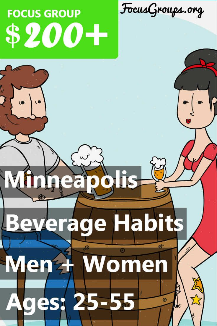 Fieldwork Minneapolis is looking for men and women age 25-55 for a Beverage Habits online bulletin board December 4th through 6th. Those who qualify will receive a $200 Visa card for their participation in a three day online bulletin board comprised of 30-45 minutes of activity each day. Some participants will be selected for a follow-up focus group, paying an additional $100 Visa card. If you are interested in participating, please sign up and take the survey to see if you qualify! If you…