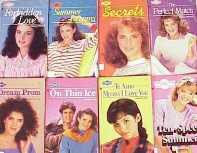 Sweet Dreams books wish you could still find these books they were the best i would still read them.