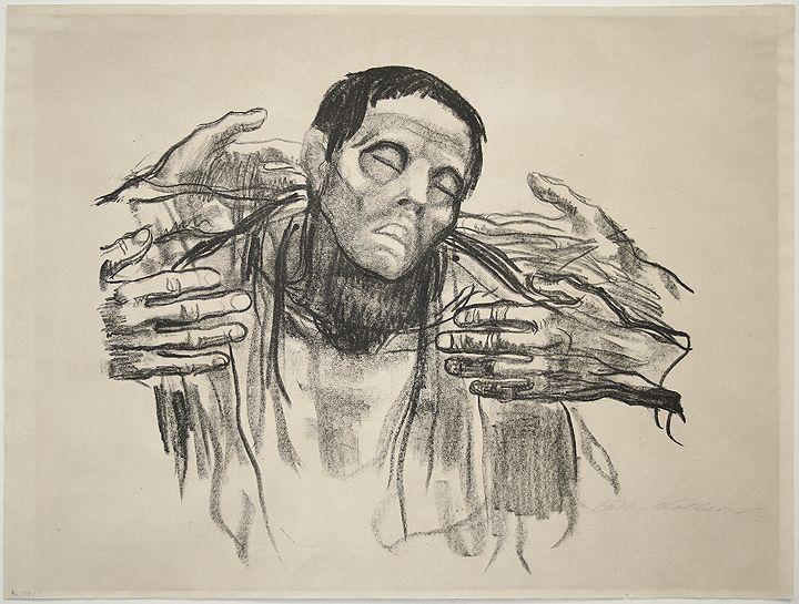 Helft Russland, 1921  Kathe Kollwitz