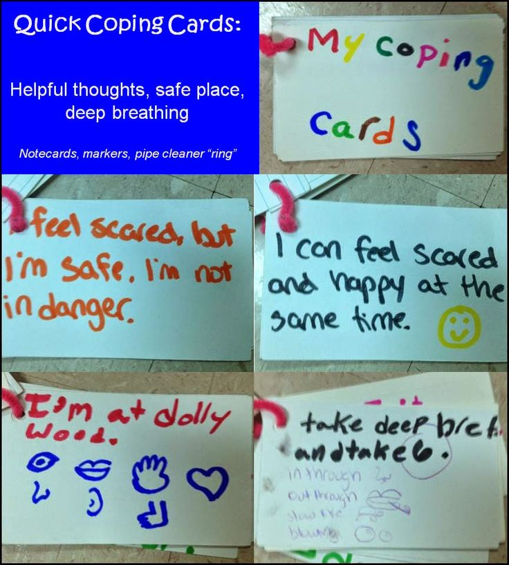 Quick Coping Cards