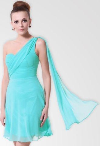 Elegant Blue Chiffon Dress Beach Theme Wedding Bridesmaid Lovely A That Actually Isn