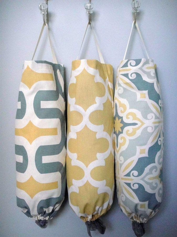 Plastic Bag Dispenser- 40 Fabric Choices!