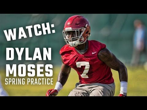 Watch star newcomers Dylan Moses, Isaiah Buggs at Alabama spring practice | AL.com