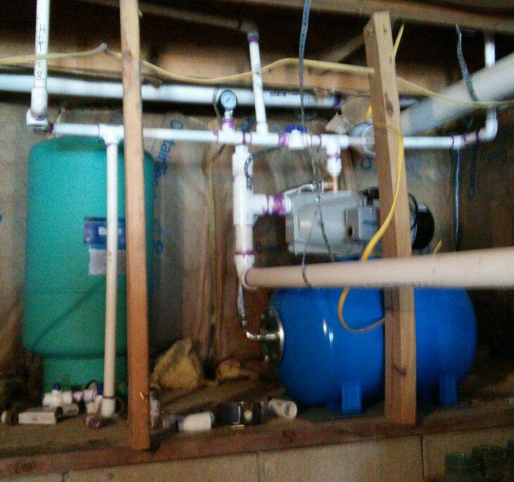 Pump system. Shallow well pump.