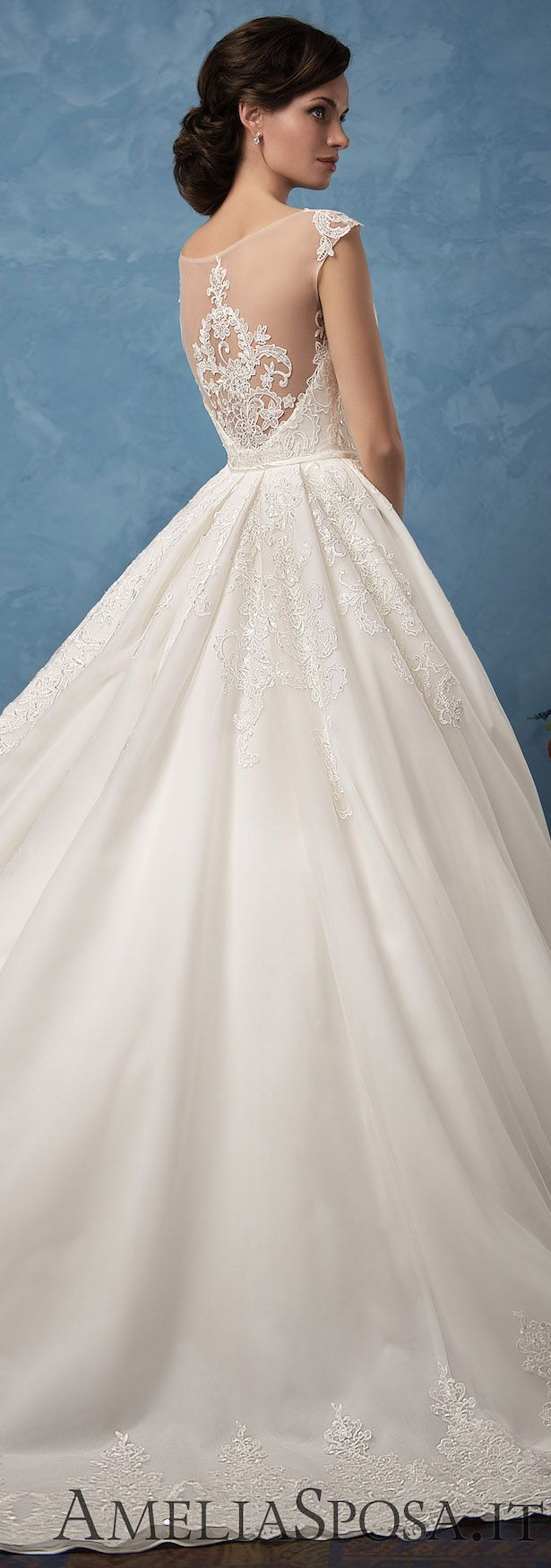 Wedding Dress by Amelia Sposa 2017 - Royal Blue Collection