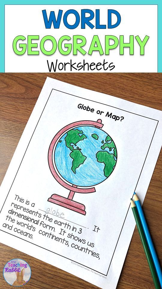 World Geography Worksheets Geography Worksheets World Geography World Map Continents World geography map worksheets