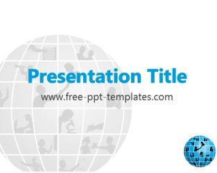 Outsourcing PowerPoint Template is a white template with an appropriate background image which you can use to make an elegant and professional PPT presentation.