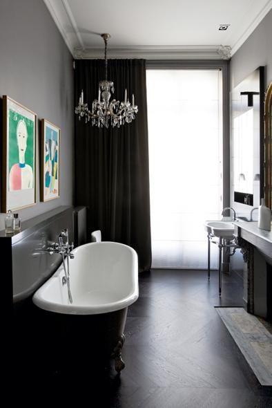 Casa Parigi stile classicoLiving Corriere