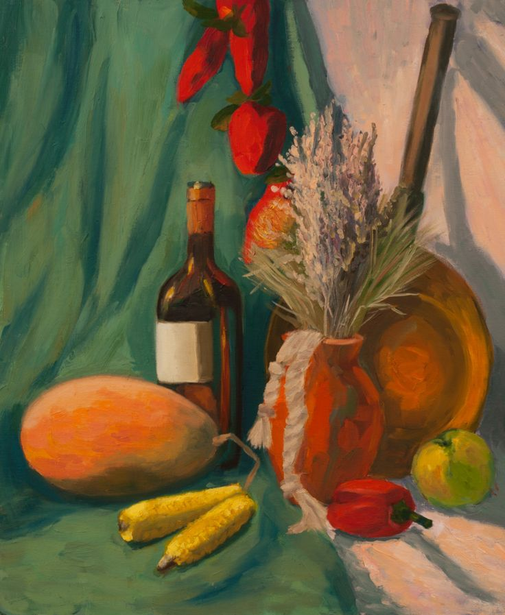 Still Life Art Print, Original Art Print, Pepper, Still Life, Print, Painting…