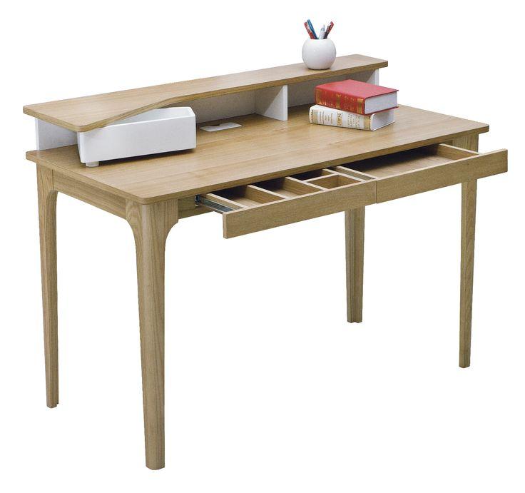 Natural Staten Hutch Desk