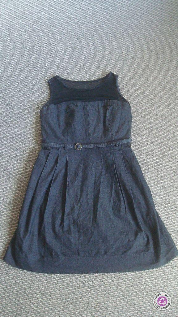 Clotheswap - Blue and black dress
