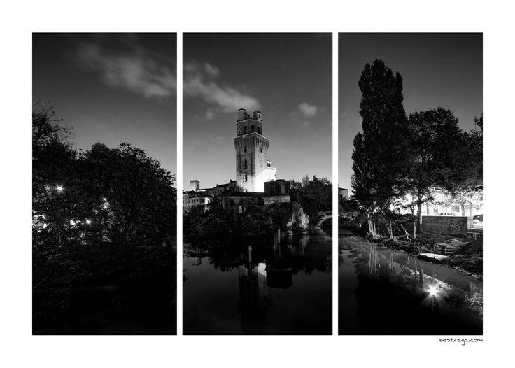 Che sia a colori o in bianco e nero, la #Specola di #Padova ha sempre il suo bel perché 😉  E in versione #Stripes è ancora più bella 😊  www.bestrega.com